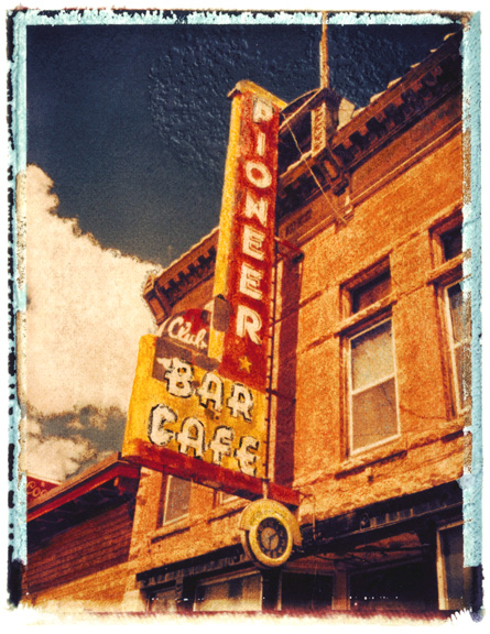 Pioneer Bar, photographed in Colorado