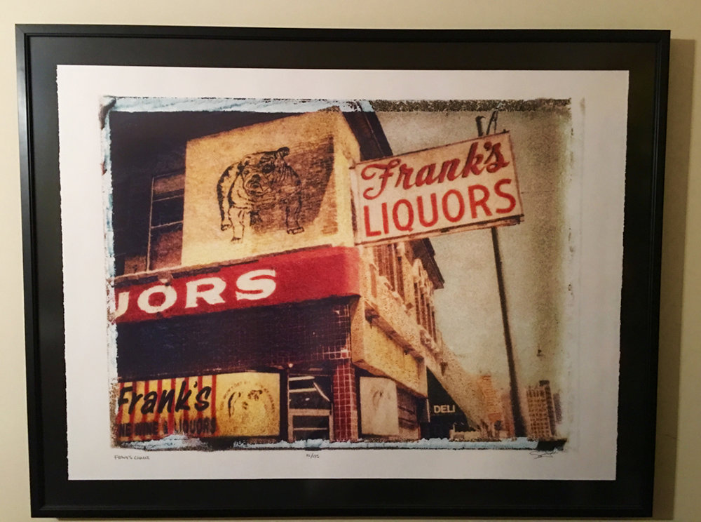 Franks's Liquor Installation