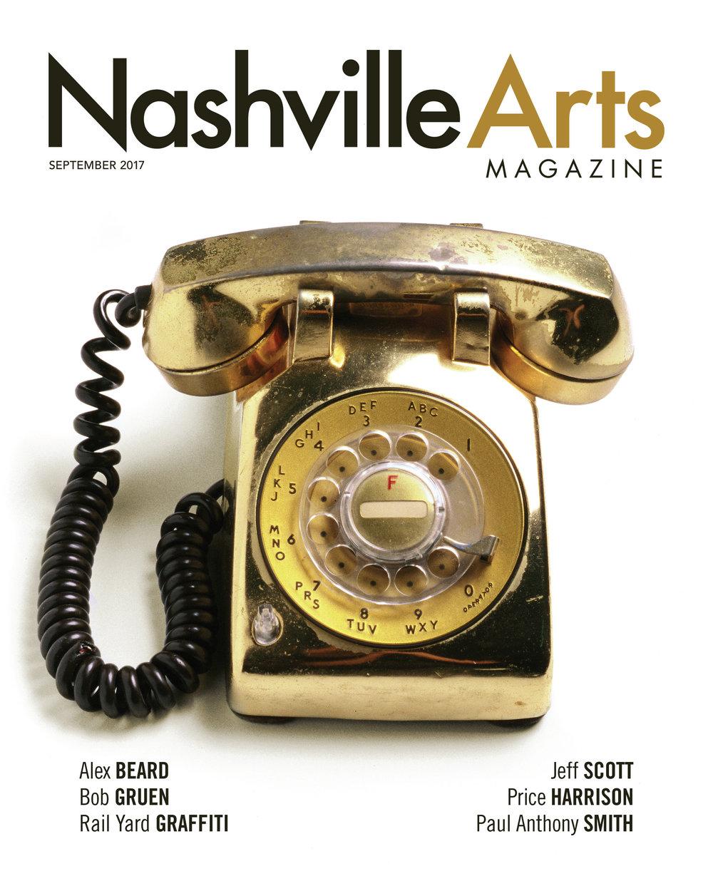 Nashville Arts September Cover