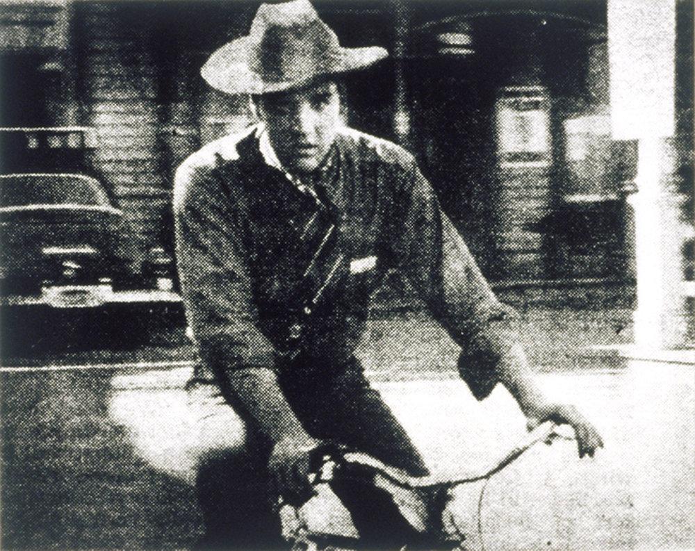 Cinema (Elvis on Bike), 2001
