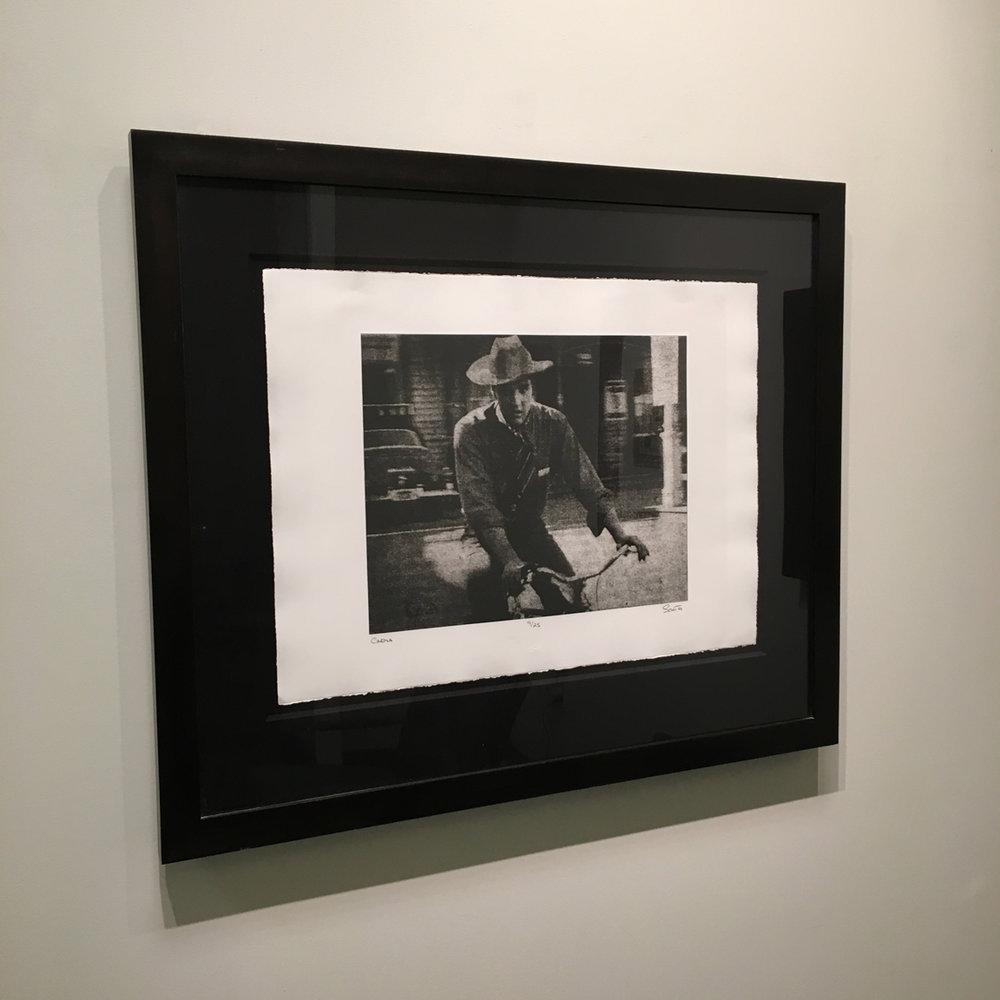 Cinema (Elvis on Bike), Photogravure