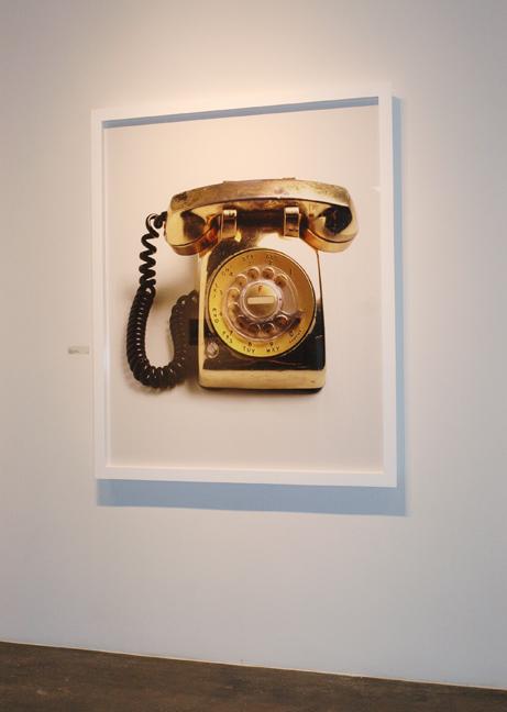 Elvis's Gold Bedside Telephone, 2003