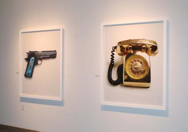 Gerald Peter's Gallery Installation