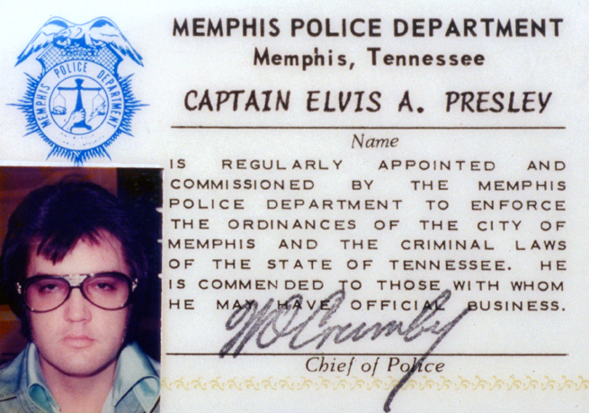 Memphis Police Department Badge, 2003