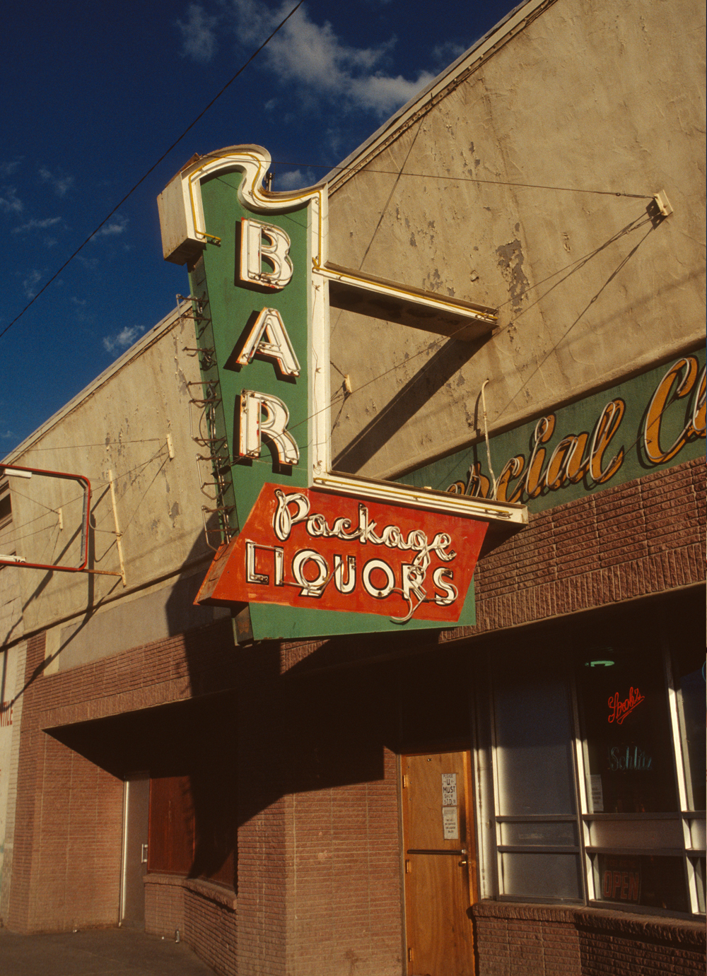 Bar, photographed in Colorado