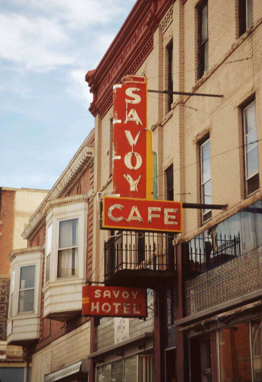 Savoy Cafe, photographed in Trinidad, Colorado