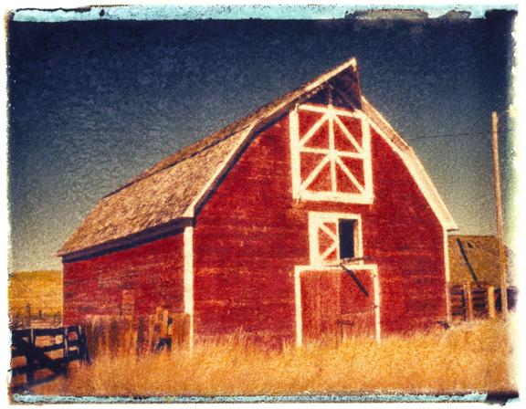 American Barn, photographed in Montana