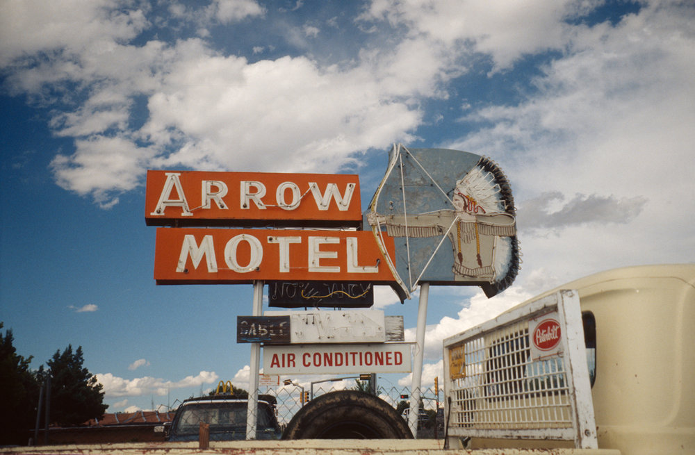 Arrow Motel, photographed in New Mexico