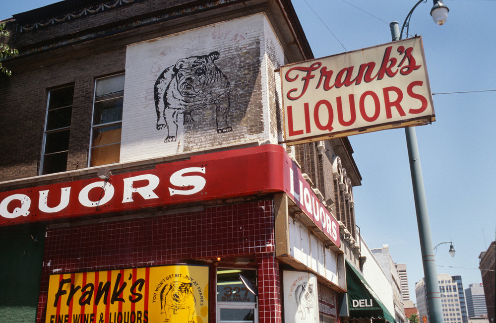 Frank's Liquor, photographed in Memphis, TN