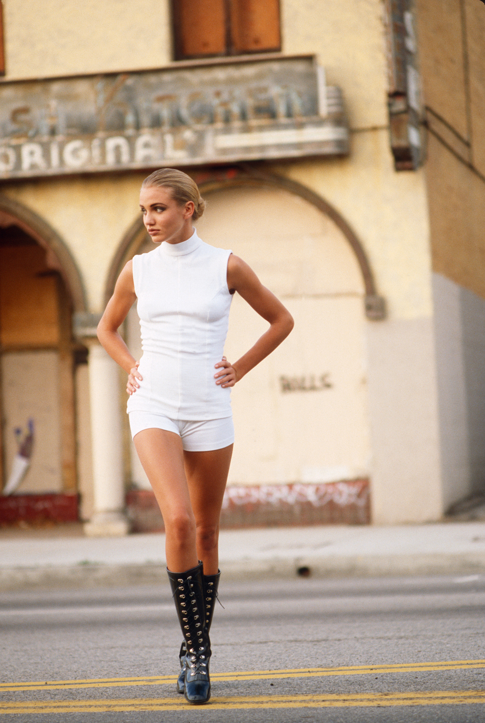Cameron Diaz photographed in Los Angeles