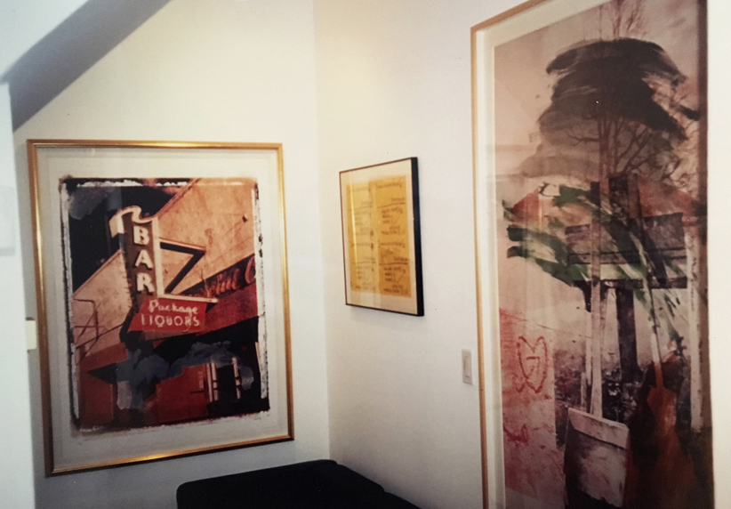 Exhibition at Kantor Gallery with Basquiat, Rauchenberg and Warhol