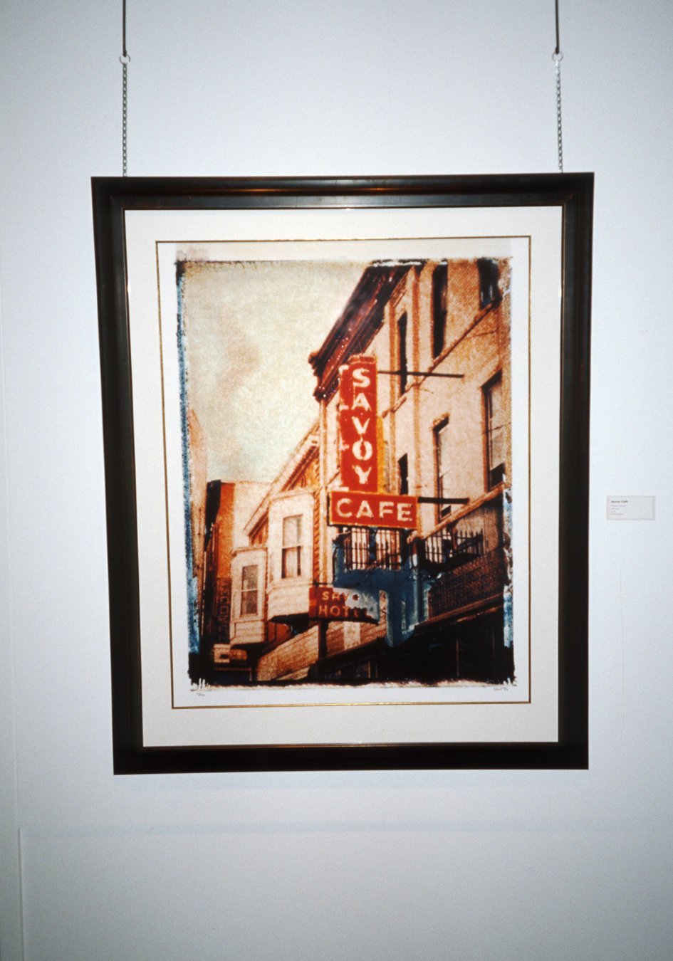 Savoy Cafe, Exhibition in New Mexico