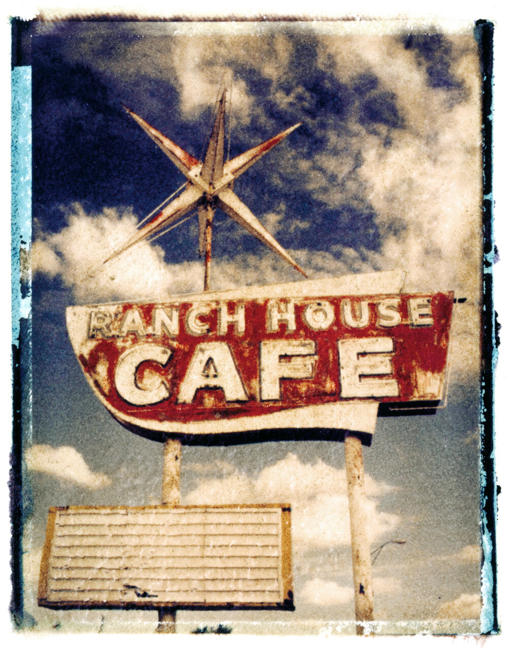Ranch House Cafe, photographed in Vaughn, New Mexico