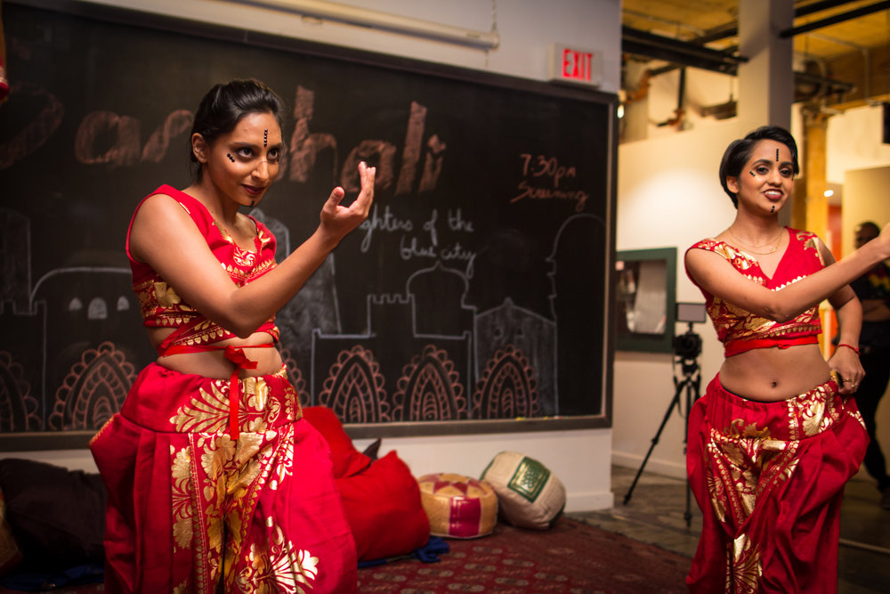 Guests enjoyed a Kalari dance performance thanks to members of The Geetika Dance Co.
