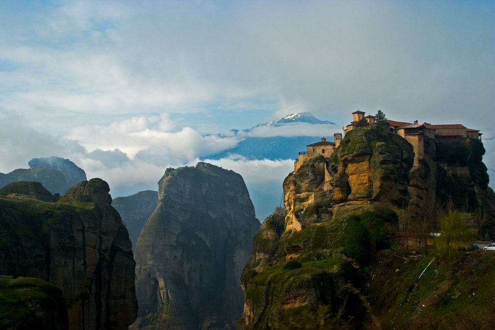 Meteora, Greece.  PHOTO: Matt Stirn
