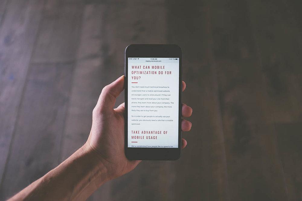 google is nu mobile first en geeft de absolute voorkeur aan zoekresultaten van geoptimaliseerde mobile websites