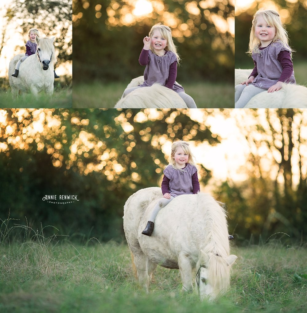 girl pony golden light photo session devon dartmoor