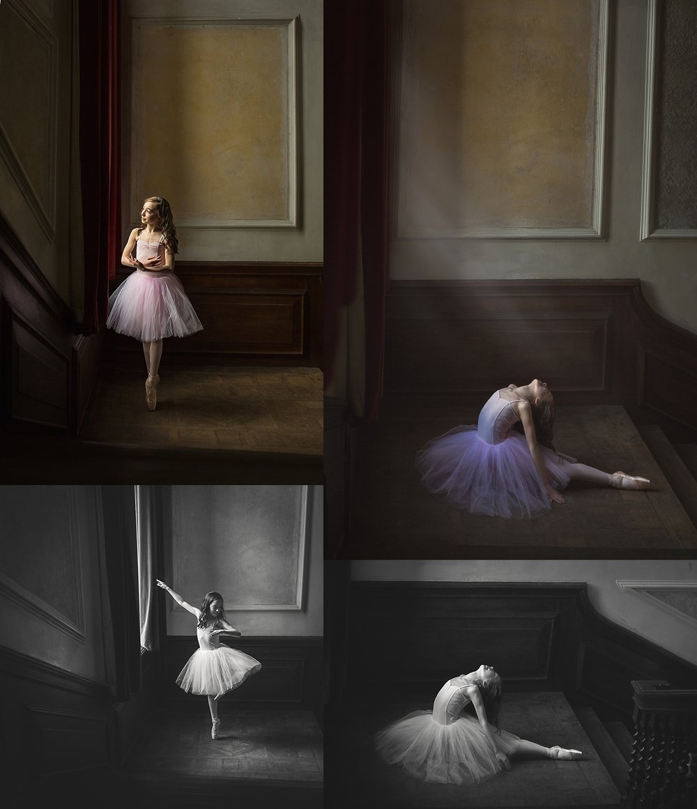 Grace ballet en pointe photos
