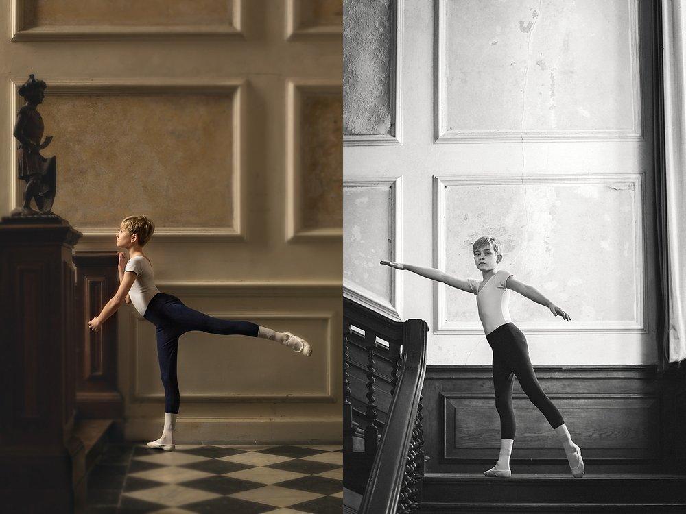 Adam ballet pose