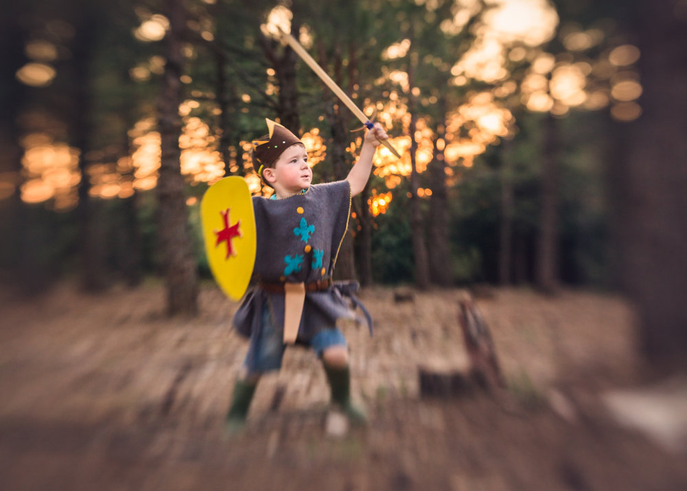 knight woodland photography session devon