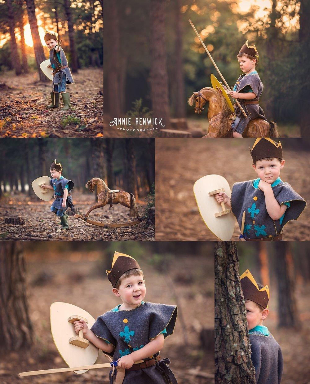 little knight, forest, dartmoor, boy portrait