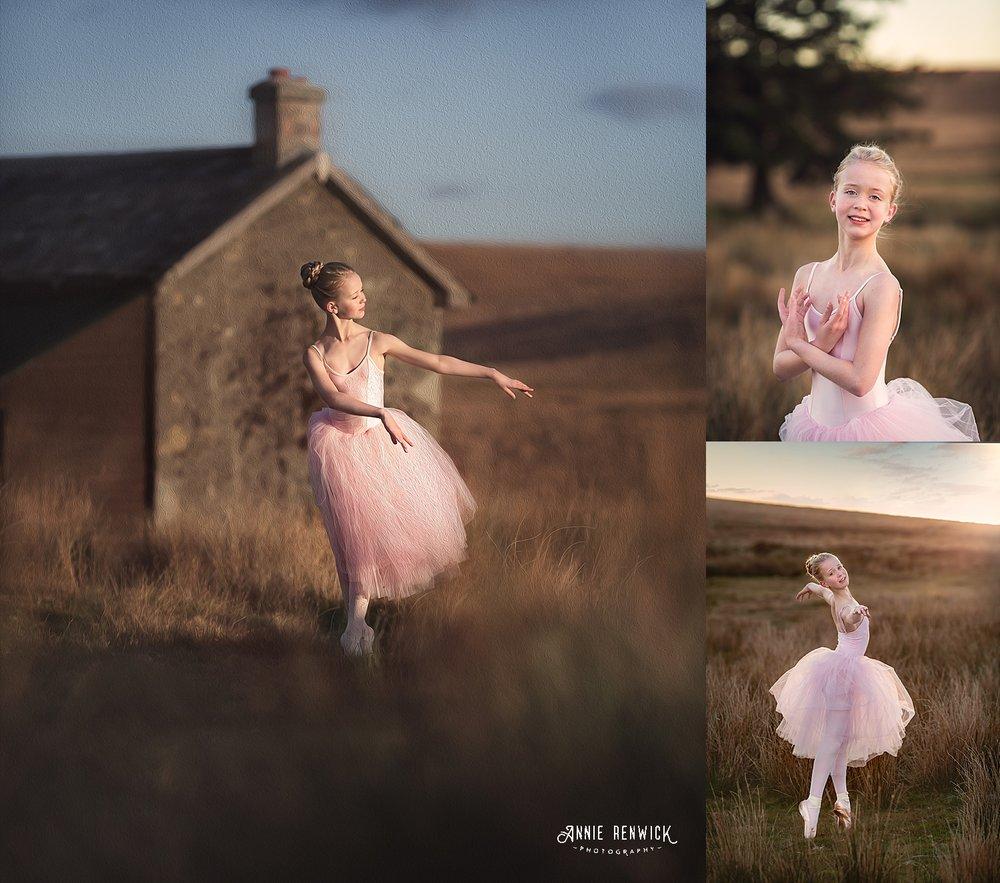 fine art ballet photographer devon on location