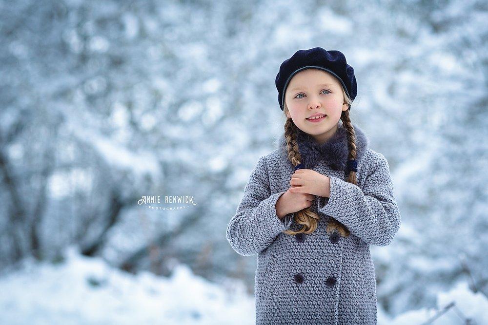 outdoor snow photography winter portrait