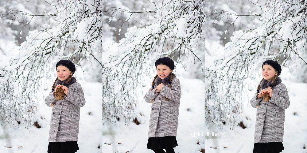 winter photo session fun devon