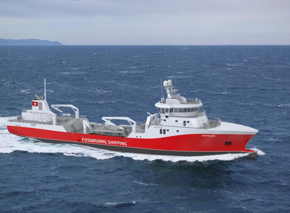 Fosnavaag Shipping's wellboat is one of many ships worldwide using Ecomotive STP.