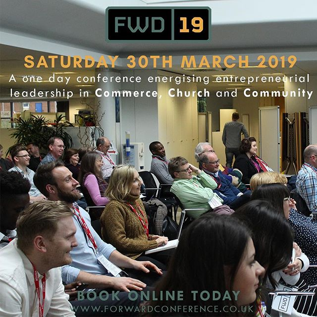 The early bird price is still available for #fwd19! Be sure to book on today for the best available price! • We have a great day in store for you, with encouragement and inspiration from Bishop Tony Miller and Paul Manwaring • Book on today through the link in our bio!