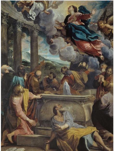Annibale Carracci 'The Assumption of The Virgin' c1587