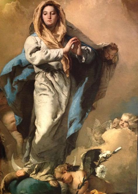 Giambattista Tiepolo 'The Immaculate Conception' 1767-70