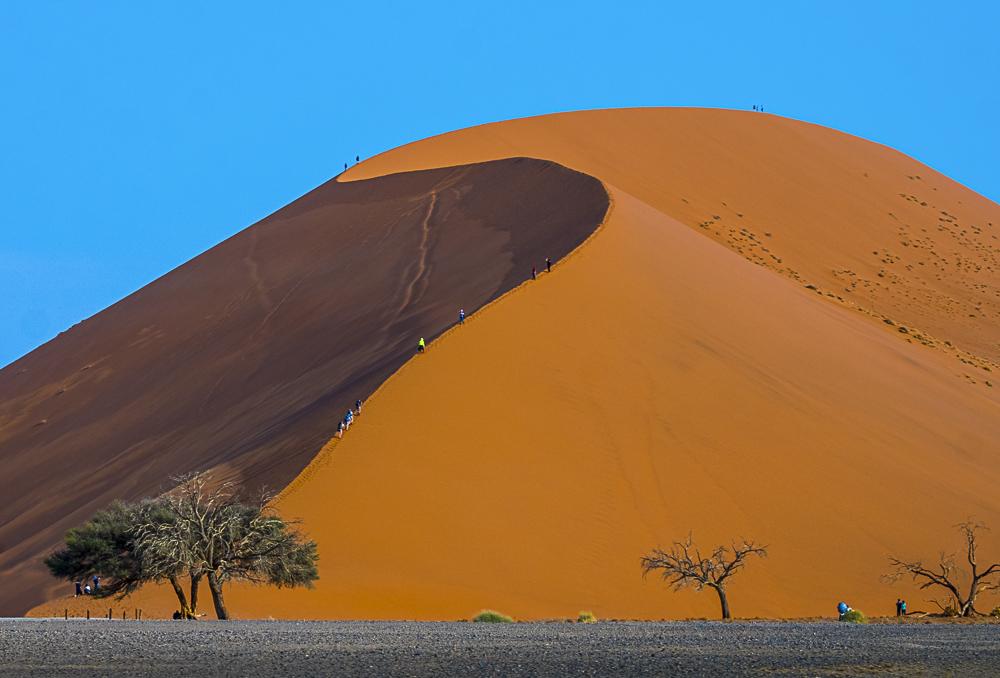 Dune 45 - Sossusvlei, Namibia
