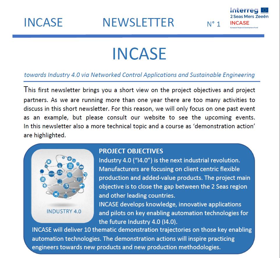 Newsletter No 1 - English - web version
