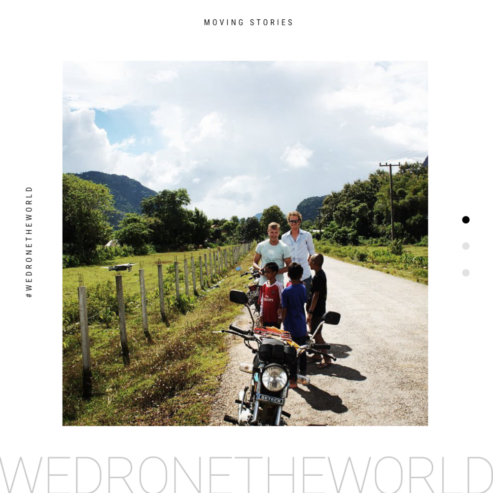 Moving Story - We Drone The World