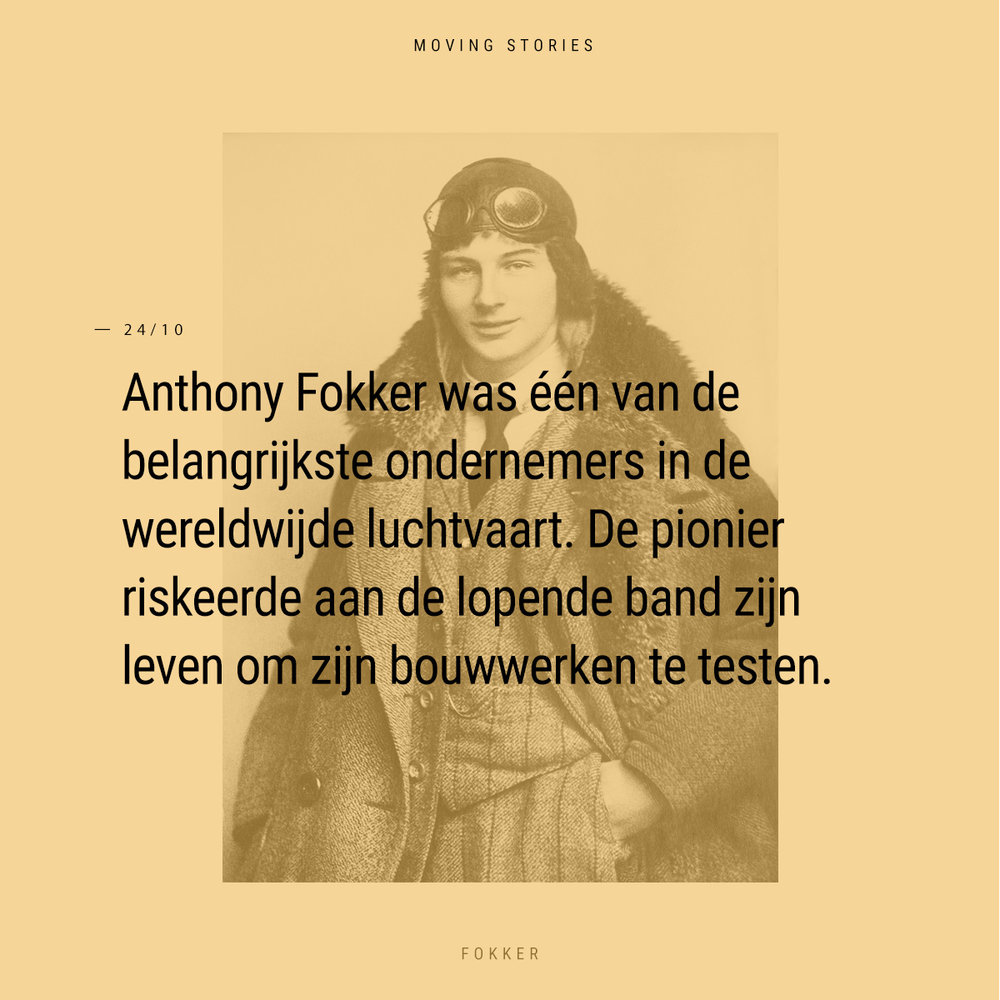 Moving Story - Anthony Fokker