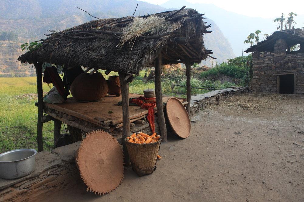 A Nepali village.