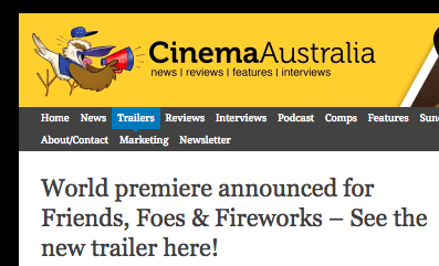 Cinema Australia  - Full Trailer announcement, Febuary 2018