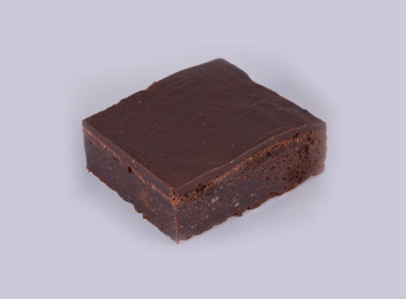 Rich Chocolate Fudge Brownie (Gluten Free)  Retail- Twin Pack  Cafe/Del i-Wholesale size 12pcs