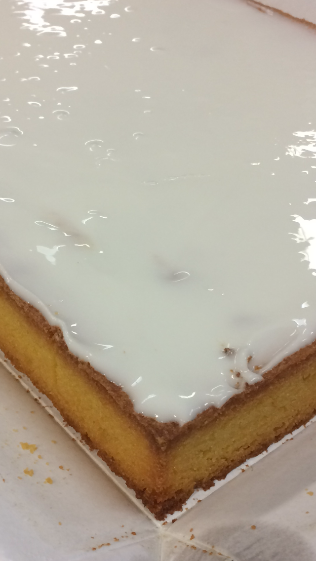 Lemon Polenta Slice (Gluten Free)  Cafe/Deli- Wholesale size 18pcs
