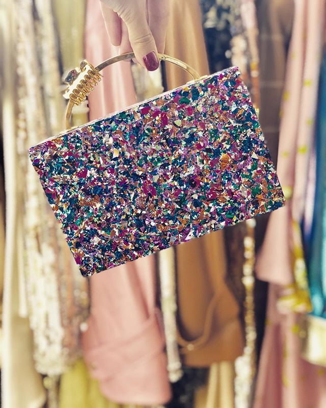 In a work of art, chaos must shimmer in the veil of order✨ Lalingi.com and at @debi.r #parisfashionweek #lalingi #pfw #parisshowroom #clutchbag #clutchbrand #clutches #designerbag #glitterclutch #brandtoknow #perspexclutch #statementbag #popupshop #boutique #fashionstore #departmentstore #shoponline #luxurybags #fashiondiaries #wiw #fashionista #luxurybags #londondesigner