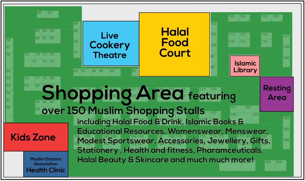 London Muslim Lifestyle Show - Olympia London - LEVEL 2