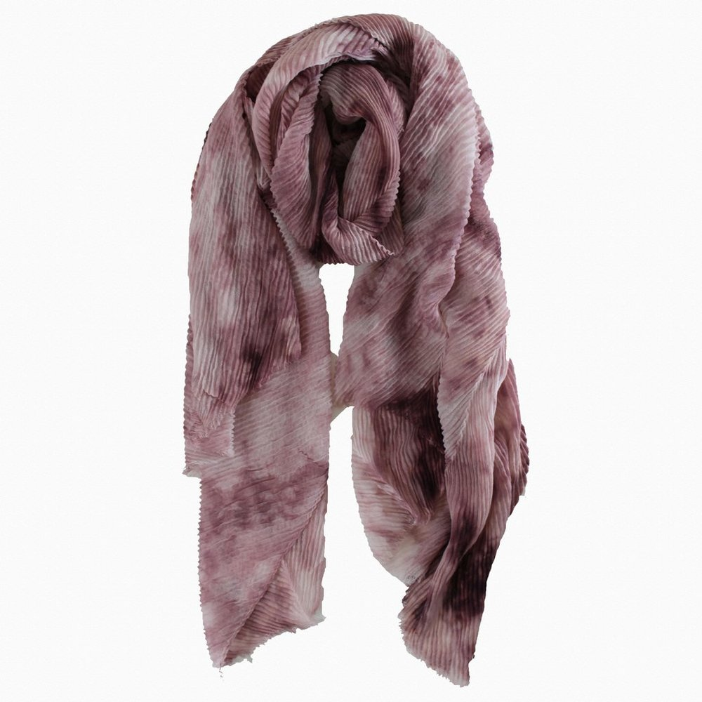 Dusty Pink Marble Effect scarf