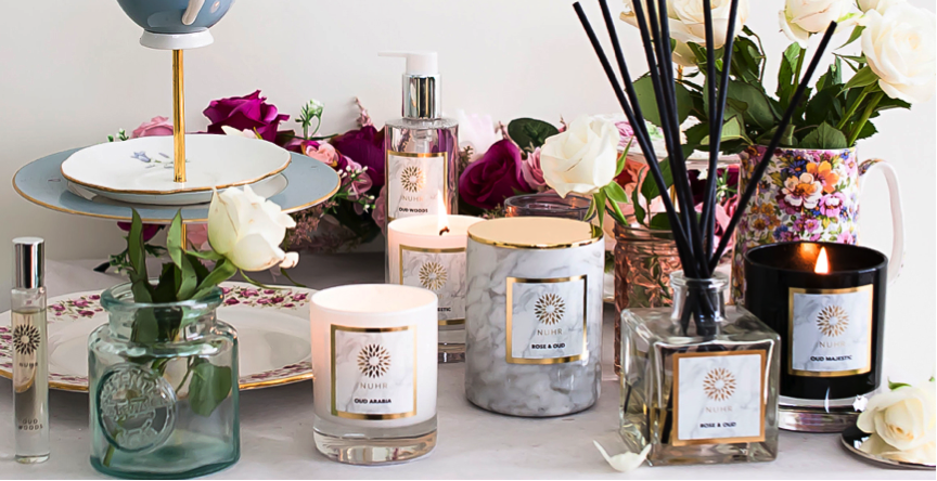 Oud candles & diffusers
