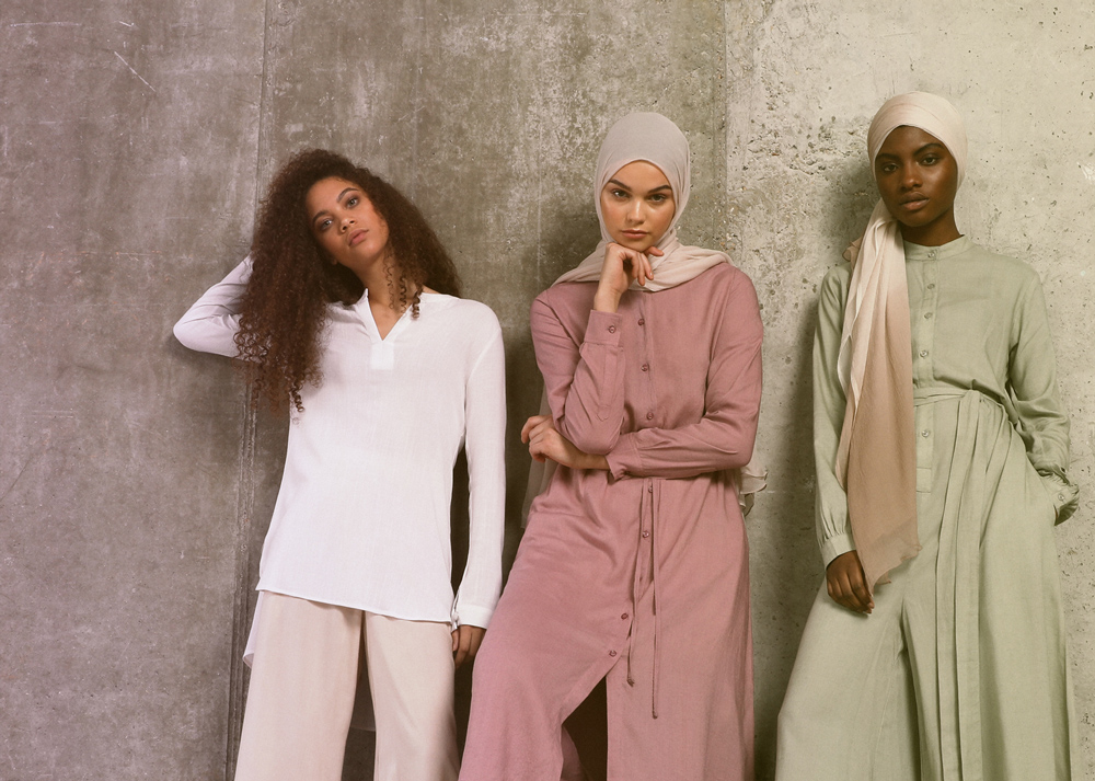See Aab's latest collection  on the catwalk at London Muslim Lifestyle Show 2018