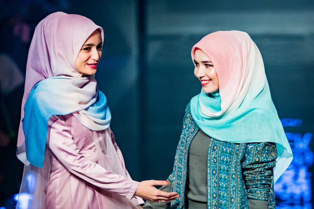 See Aidijuma's latest collection  on the catwalk at London Muslim Lifestyle Show 2018