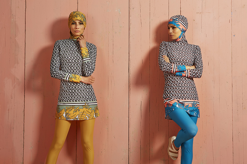 See Chiara Taffarello's latest collection  on the catwalk at London Muslim Lifestyle Show 2018