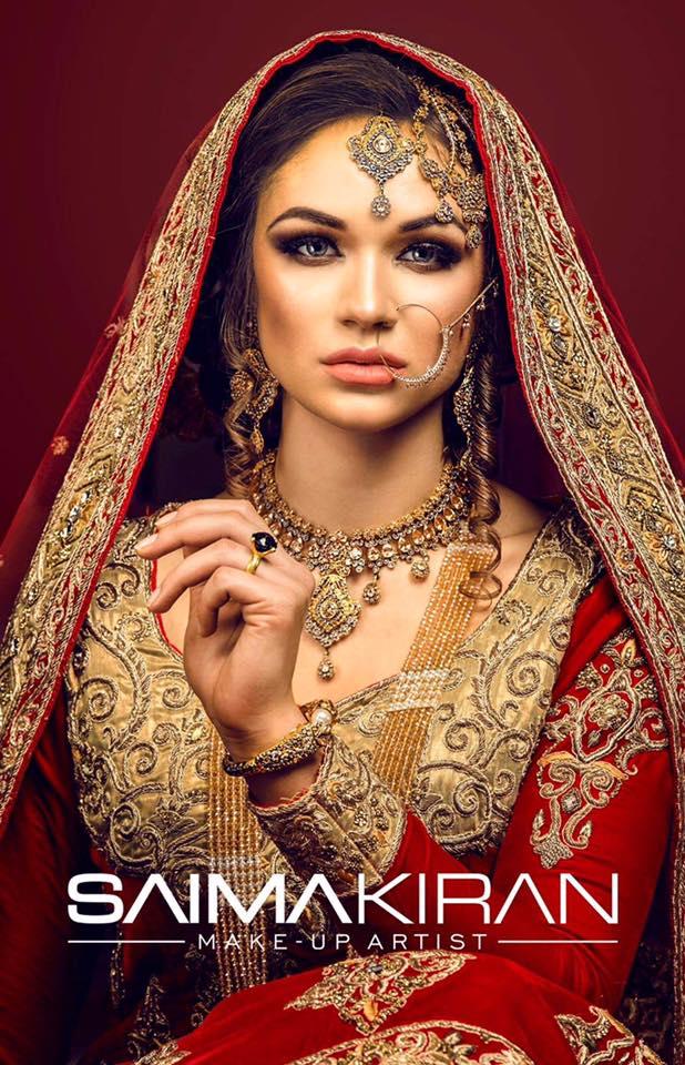 Saima Kiran makeup artist