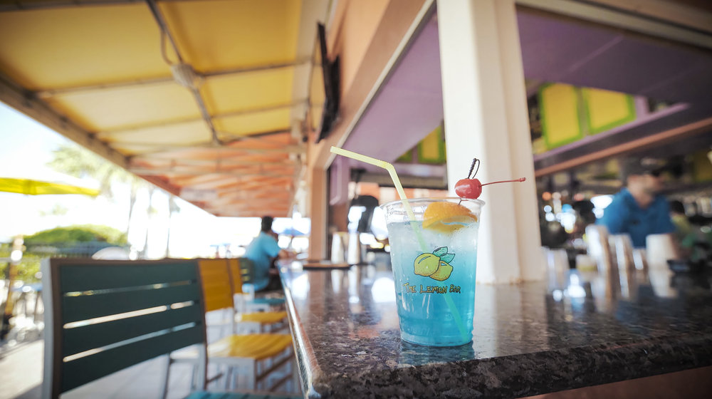 The Lemon Bar - The Lemon Bar is located on the Atlantic Ocean in Neptune Beach and offers great food, frozen beverages and a stunning view!View in Directory