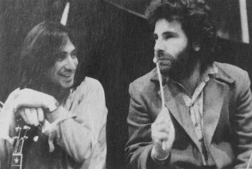 Lol Creme (l) and Kevin Godley. [Photo: Sally Fear]